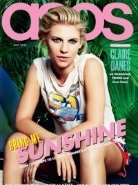 Claire Danes Covers ASOS Magazine May 2012