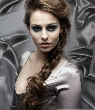 Braided Long Ponytail Hairstyle