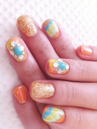 Cool Nail Art Designs for Summer 2012
