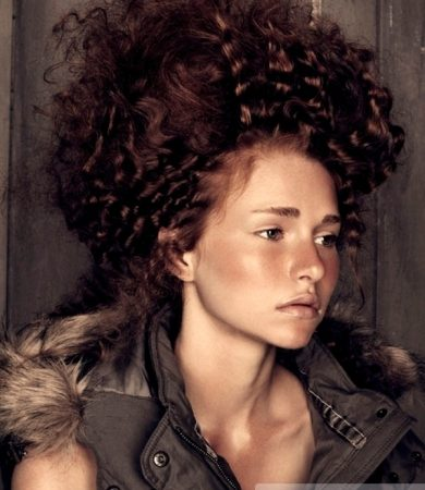 Ultra Romantic Curly Updo Hairstyle