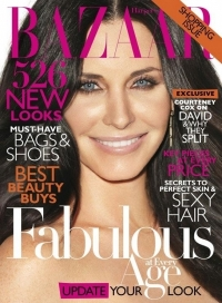 Courtney Cox Covers Harper's Bazaar April 2011