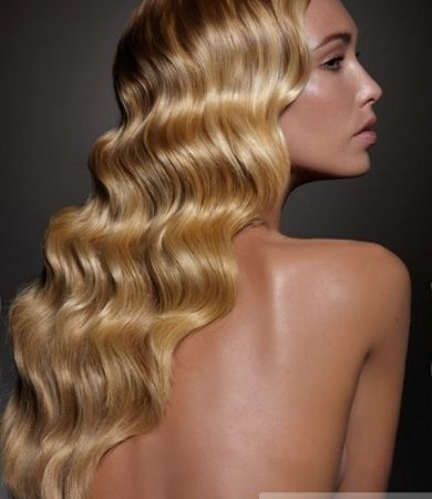 Chic Finger Waves Hair Style