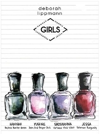 Deborah Lippmann 'Girls' 2013 Nail Polishes