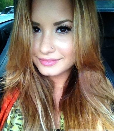 Demi Lovato's New Blonde Hair Color