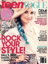 Demi Lovato Covers Teen Vogue November 2012