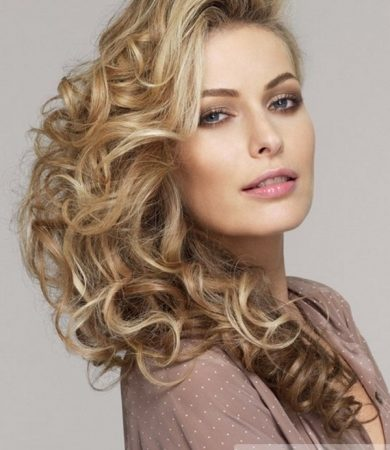 Long Romantic Curly Hairstyle
