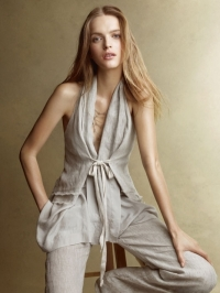 Donna Karan Casual Luxe Spring 2011 Lookbook