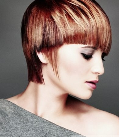 Groovy Two Tone Short Haircut