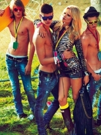 Dsquared2 Spring/Summer 2012 Campaign with Natasha Poly