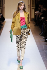 Fall/Winter 2010 Bright Colors Trend