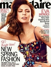 Eva Mendes Covers Marie Claire March 2012