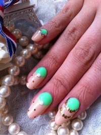 Color Mix Nail Art Ideas for Summer