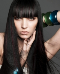 2010 Winter Long Hairstyle Trends