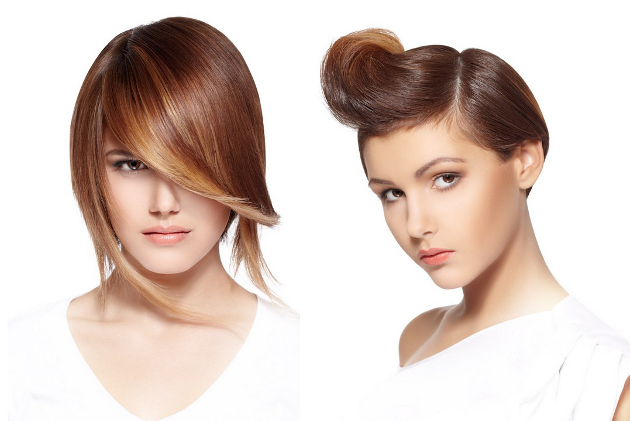 Create Vintage Faux Bang Hairstyle