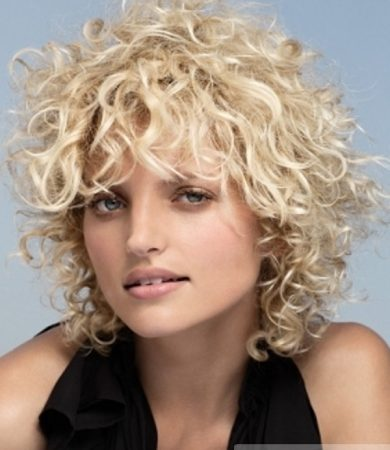 Super Curly Hair Style