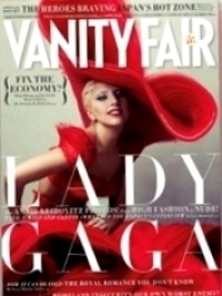 Lady Gaga Bares It All for Vanity Fair January 2012