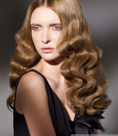 Glam Finger Waves Hairstyle