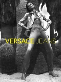 Gisele Bundchen Goes Topless for Versace Jeans 2012 Campaign