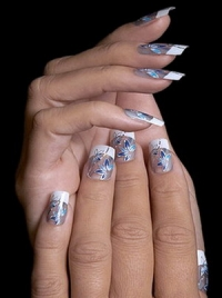Latest French Manicure Designs