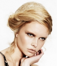 Piled Up Updo Hair Styles