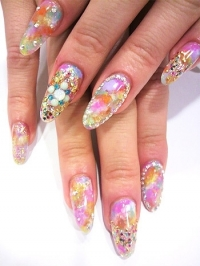 Glam Nail Art Designs for Summer