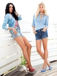 Guess Denim Spring/Summer 2013 Lookbook