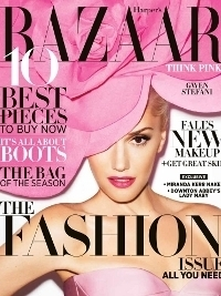 Gwen Stefani for Harper's Bazaar US September 2012