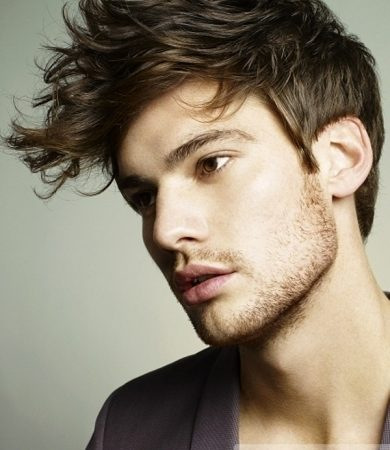 Pictures Mens Short Hairstyles Long Bangs Short Hair Style