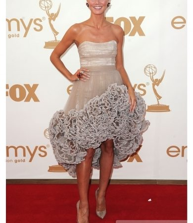 Heidi Klum in Christian Siriano Dress