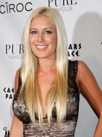 Heidi Montag Back from her Hollywood Break