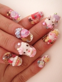 Holiday Japanese Nail Art Designs
