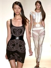 Herve Leger by Max Azria Spring 2013 Collection