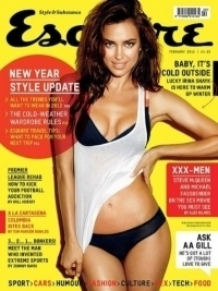 Irina Shayk Covers Esquire, Says She Would Never Do Playboy