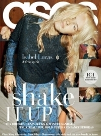 Isabel Lucas Covers ASOS Magazine November 2011