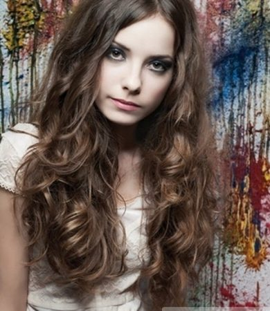 Long Curly Romantic Hair Style