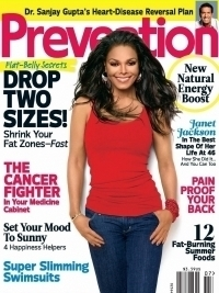 Janet Jackson Talks Weight Loss and Body Image with Prevention July 2012