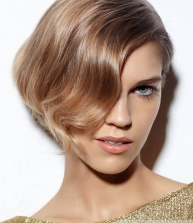Lovely Short Bob Haircut