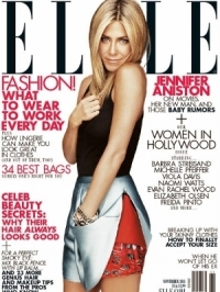 Jennifer Aniston Covers Elle's November 2011 'Women in Hollywood' Issue
