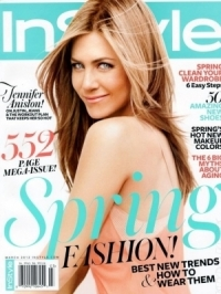 Jennifer Aniston Flawless in InStyle March 2012