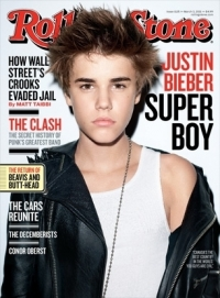 Justin Bieber Covers Rolling Stone March 2011