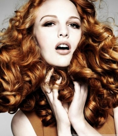 Amazing Long Curly Red Hairstyle