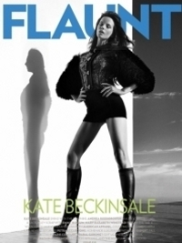 Kate Beckinsale Covers 'Flaunt' Magazine