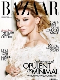 Cate Blanchett Covers Harper's Bazaar UK April 2012