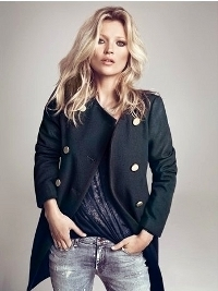 Kate Moss for Mango Winter 2012 Campaign