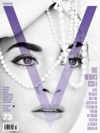 Kate Winslet Covers V Magazine The Heroes Issue 73
