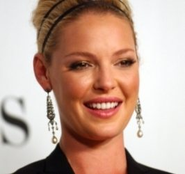 Katherine Heigl Updo Hairstyle with Headband