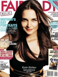 Katie Holmes Covers Fairlady May 2012