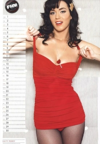 Katy Perry Poses for FHM Calendar 2011
