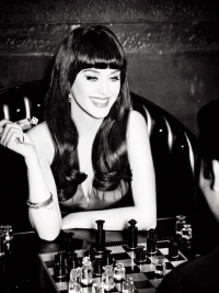 Katy Perry for GHD New Campaign 2012