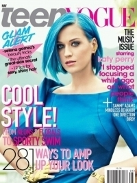Katy Perry Covers Teen Vogue May 2012